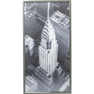 Picture Frame Chrysler Building View 166x86cm Kare Design