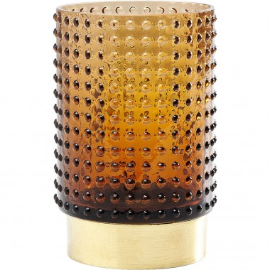 Vase Barfly Brown 14cm Kare Design