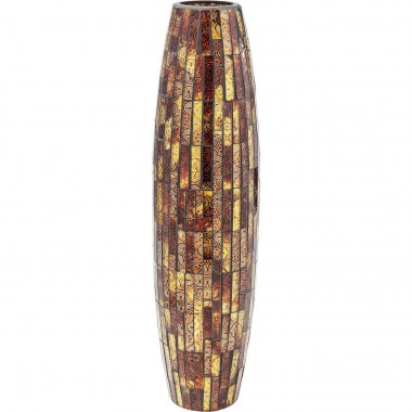 Vase Mosaico Brown 59cm Kare Design