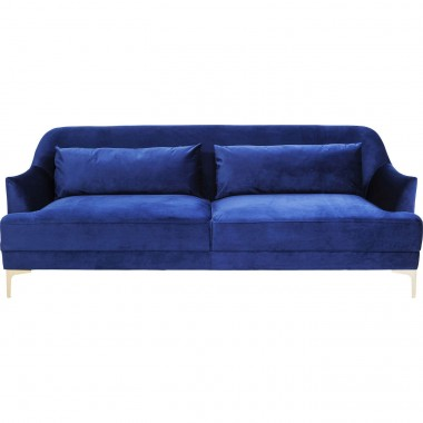 Sofa Proud Blue 3-Seater Kare Design