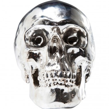 Money Box Skull Chrome Kare Design