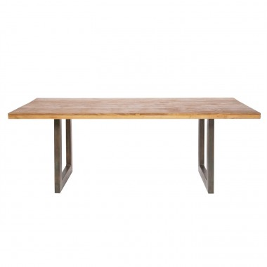 Factory Table Wood 160x90cm Kare Design