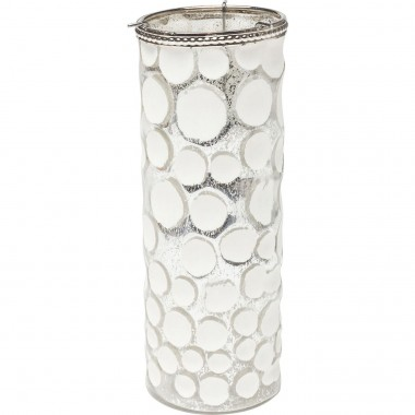 Tealight Holder Polar Circles 22cm Kare Design