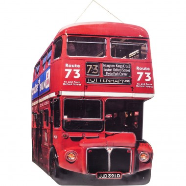 Wall Decoration Tottenham Bus Kare Design