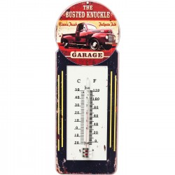 Deco Thermometer Busted Knuckle Kare Design