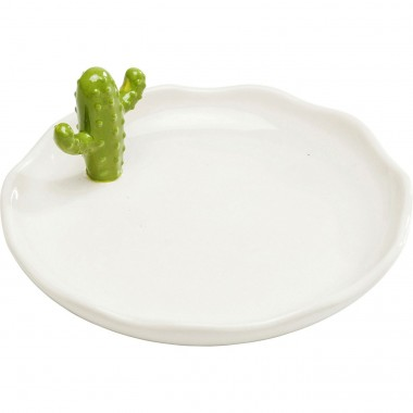 Deco Plate Kaktus Small Kare Design