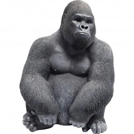 Deco Object Monkey Gorilla Side Medium Black Kare Design