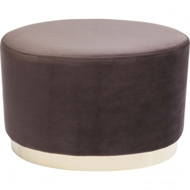 Stool Cherry Eclipse Brown Brass Kare Design