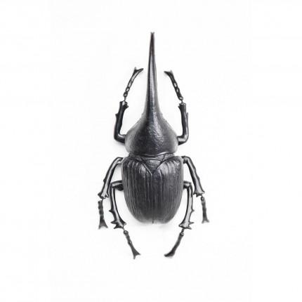 Wall Decoration Herkules Beetle Matt Black Kare Design