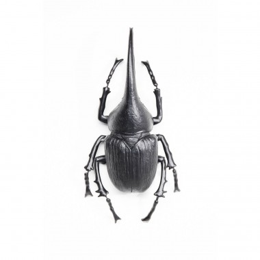 Wall Decoration Herkules Beetle Matt Black Kare Design