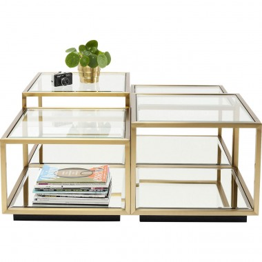 Coffee Table Luigi Gold (4/Set) Kare Design