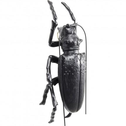 Wall Decoration Longicorn Beetle Matt Black Kare Design
