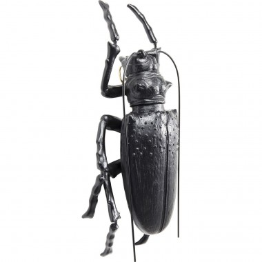 Wall Decoration Longicorn Beetle Matt Black Kare Design