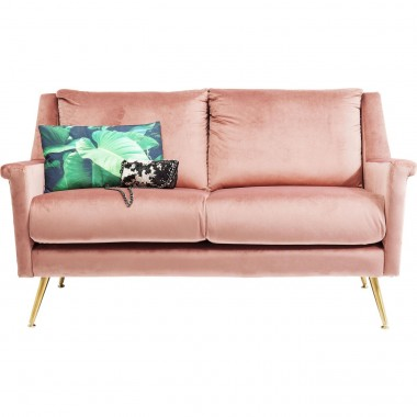 Sofa San Diego 2-Seater Rose 145cm Kare Design