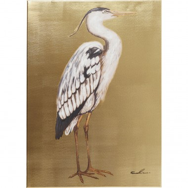 Picture Touched Heron Right 70x50cm Kare Design