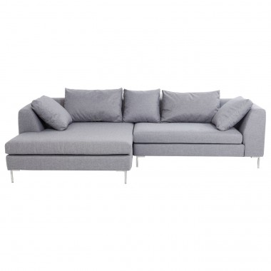 Corner sofa Gianni Grey Left Kare Design