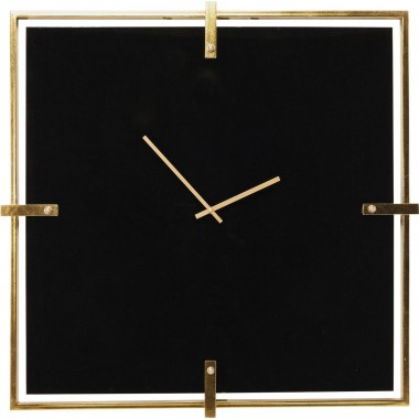 Wall Clock Black Mamba Kare Design