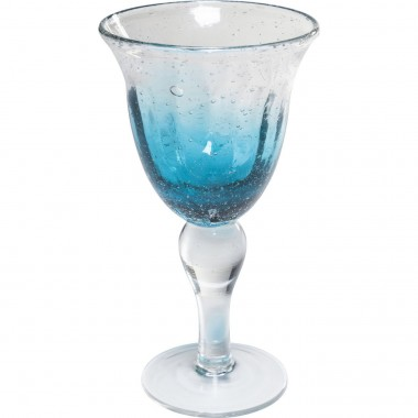 Redwine Glass Monaco Blue Kare Design