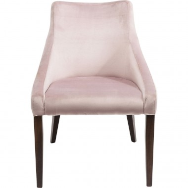 Chair Mode Velvet Mauve Kare Design