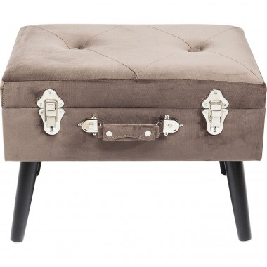 Stool Suitcase Grey Kare Design