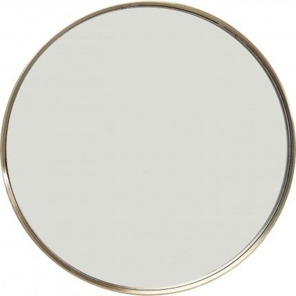 Mirror Curve Round Brass Ø60cm Kare Design