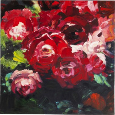 Picture Touched Roses 100x100cm Kare Design