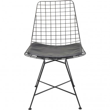Chaise Grid noire Kare Design