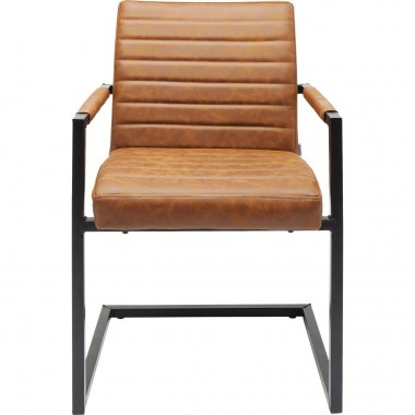 Cantilever Chair  Barone Brown Kare Design