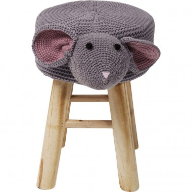 Stool Funny Mouse Kare Design