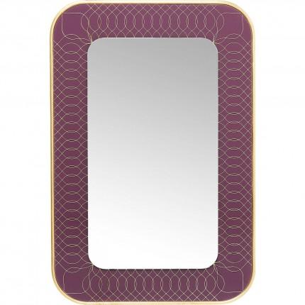 Mirror Revival Berry 90x60cm Kare Design