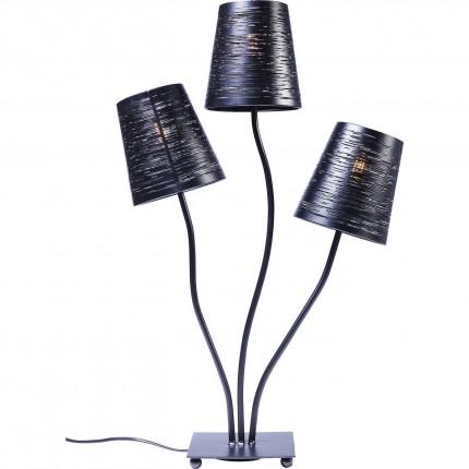 Lampe de table Flexible noir Tre Kare Design