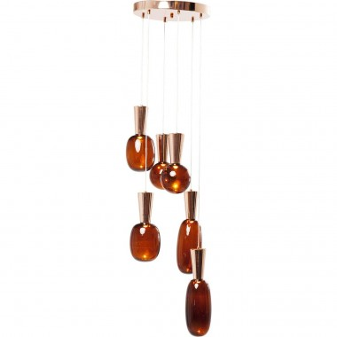 Pendant Lamp Glass Goccia LED Kare Design