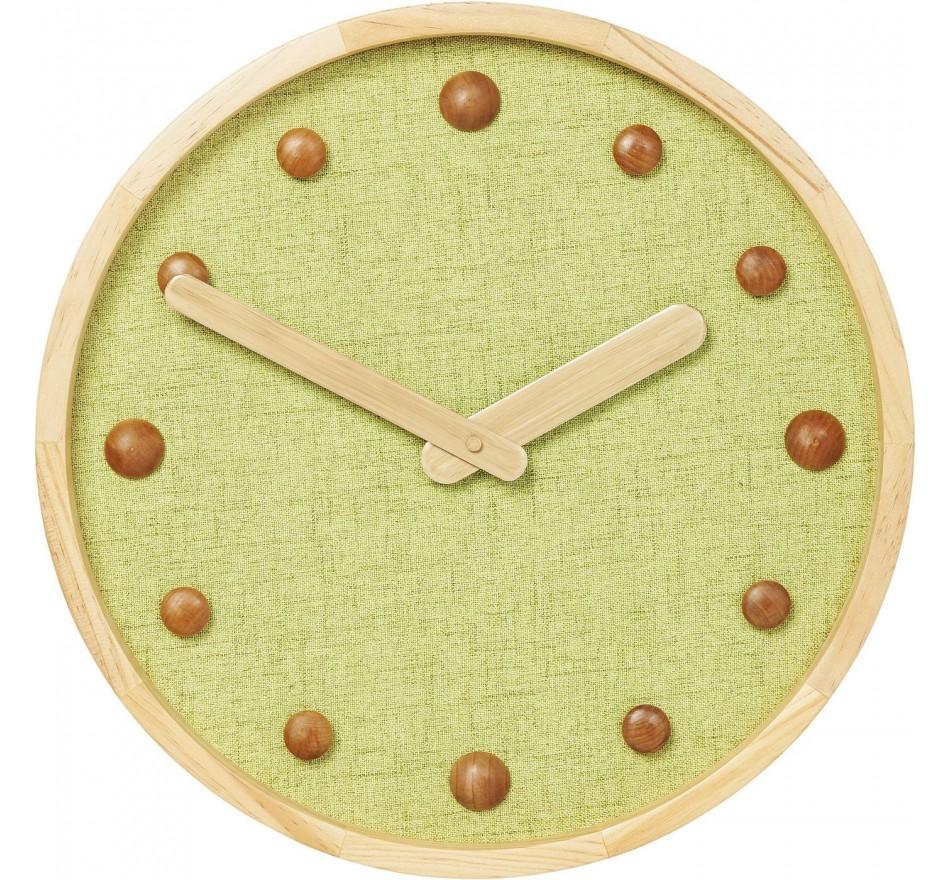 Horloge murale Arizona vert 42cm Kare Design