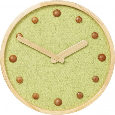 Wall Clock Arizona Green 42cm Kare Design
