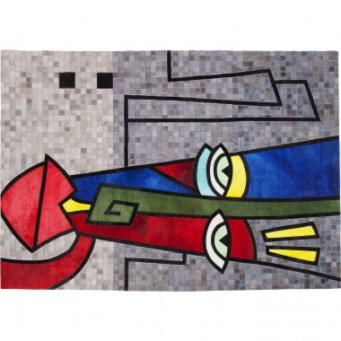 Carpet Face Pop Art 170x240cm Kare Design