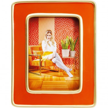 Frame Zebra Orange Kare Design