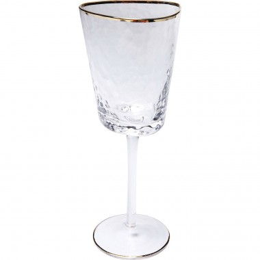 White Wine Glass Hommage Kare Design