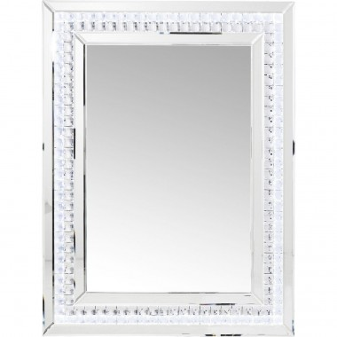 Mirror Crystals LED 80x60cm Kare Design