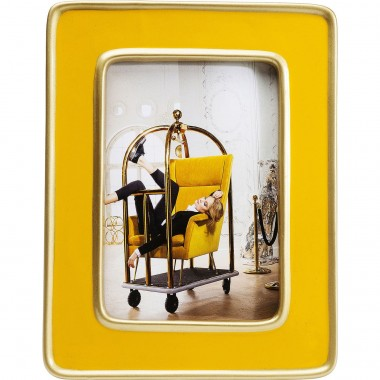 Frame Zebra Yellow Kare Design
