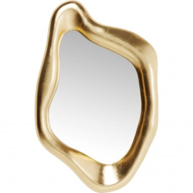 Mirror Hologram Gold 119x76cm Kare Design