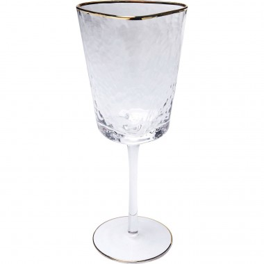Red Wine Glass Hommage Kare Design