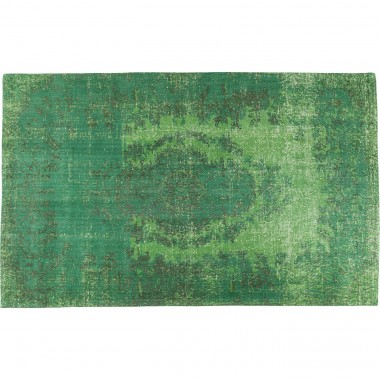 Carpet Kelim Ornament Green 240x170cm Kare Design