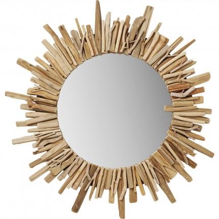 Mirror Legno Ø82cm Kare Design