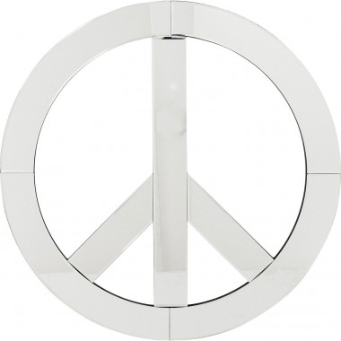 Wall Decoration Mirror Peace Big Kare Design