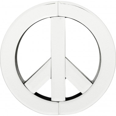 Wall Decoration Mirror Peace Small Kare Design
