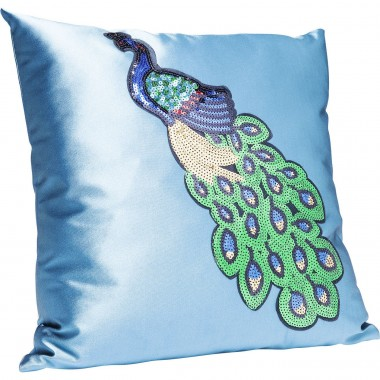 Coussin Peacock Glamour 45x45cm Kare Design