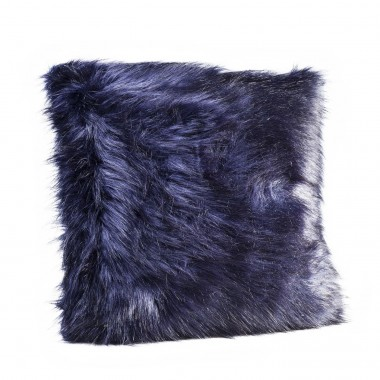 Cushion Ontario Fur Black 60x60cm Kare Design