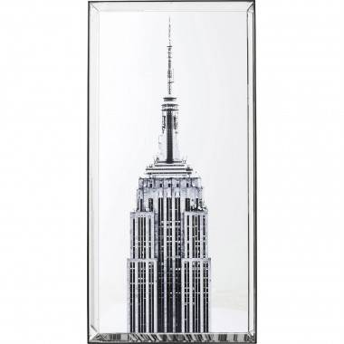 Picture Mirror Empire State Building 120x60cm Kare Design