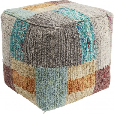 Pouf Color Fields 45x45cm Kare Design