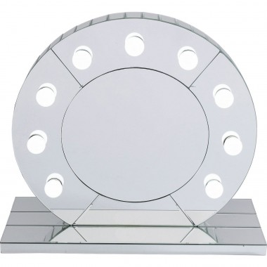 Table Mirror Make Up  Round Kare Design